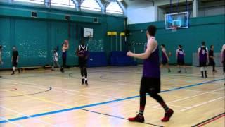 leeds beckett bucs  2nds basketball warm up 24th feb 2016