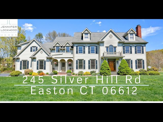 Home for Sale Easton CT | 245 Silver Hill Rd Easton 06612 | Fairfield County CT