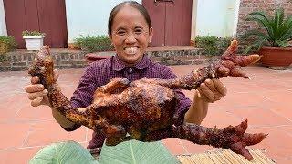 Bà Tân Vlog | Gà Đông Tảo Khổng Lồ Nướng Siêu Cay | BBQ Chicken