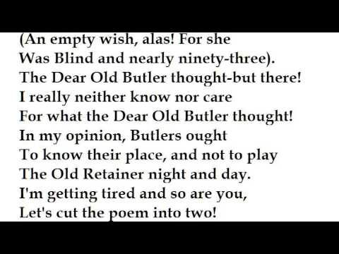 """Lord Lundy"" by Hilaire Belloc (read by Tom O'Bedlam)"