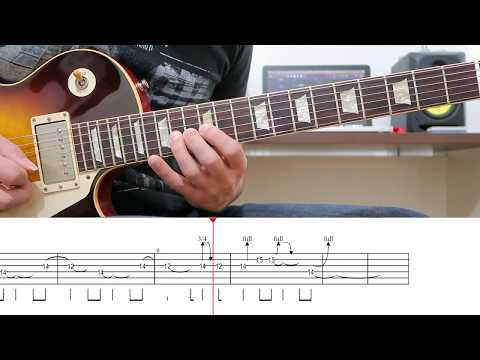 Sweet Child O' Mine (Solo 1) – Lesson – With Tabs