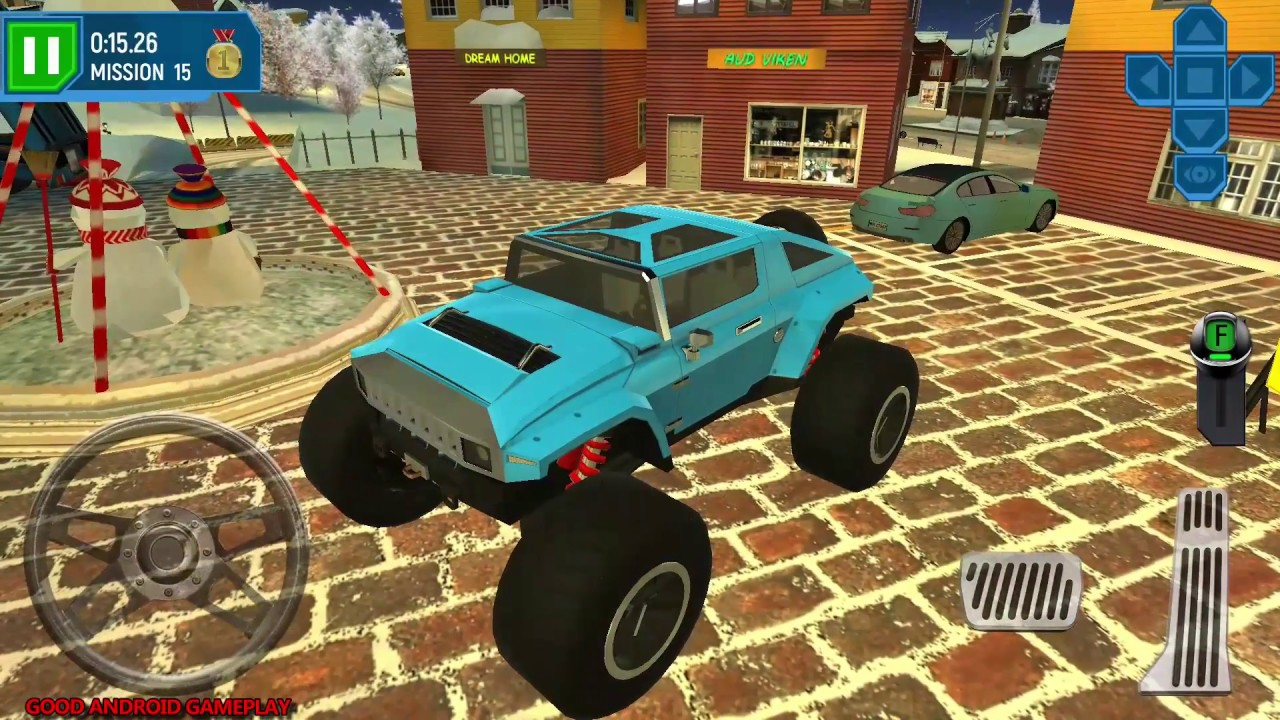 ski resort driving simulator 3 new monster truck. Black Bedroom Furniture Sets. Home Design Ideas