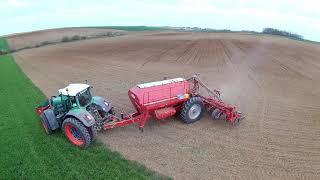FENDT 930 et HORSCH MAESTRO SW 12 RANGS au semis de maïs dans la Meuse