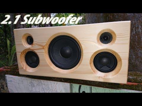 DIY: 2.1 Bluetooth Speaker. Subwoofer