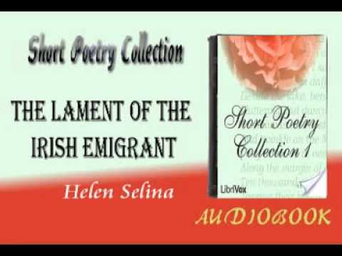 the-lament-of-the-irish-emigrant-helen-selina-audiobook-short-poetry