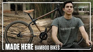 Bamboo Bikes Handmade In Mexico City Made Here Popular Mechanics Youtube