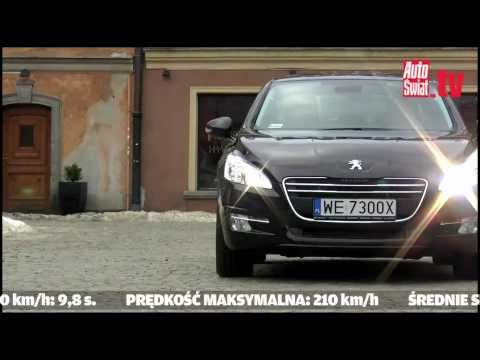 Test nowego Peugeota 508