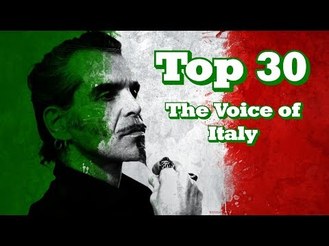 My Top 30 Blind Auditions - The Voice Of Italy
