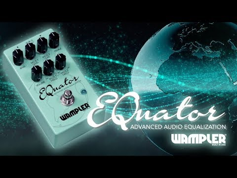 Wampler Equator EQ Parametric/Graphic pedal