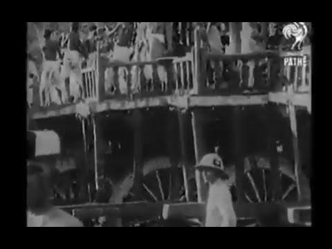 Ratha yatra puri - 1912 rare video. Jai jagannath.