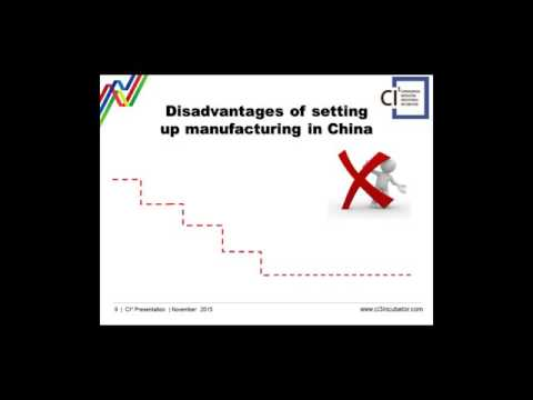 Expansion into China - Part 7 - PTL Group - Advantages of the Factory Incubator Model