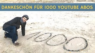 1000 YouTube Abos: Dankeschön dafür! Wohnmobil Selbstausbau geht weiter!