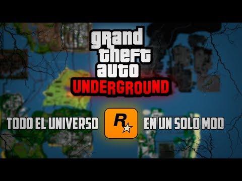 GTA Underground: TODO EL UNIVERSO ROCKSTAR EN UN SOLO MOD