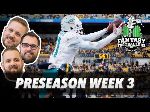 Fantasy Football 2017 - Confusing Players, Andy's Apology, Pre. Week 3 - Ep. #425