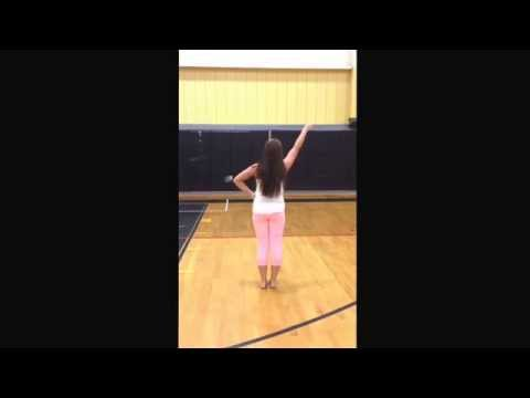 Solanco High School Cheerleading Tryout Band Dance 2014