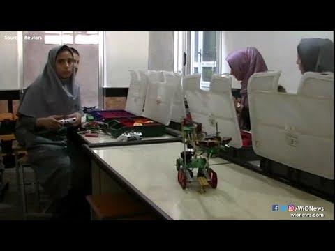 Afghanistan female robotics team denied US visas, will compete on Skype