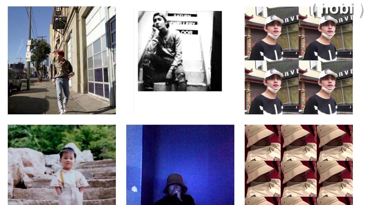 Bts Personal Instagram Accounts Youtube