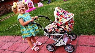 видео Детские игрушечные коляски