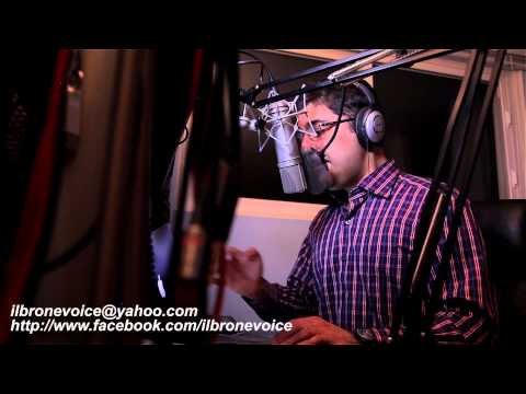 Recording A Voice Over (In Farsi)