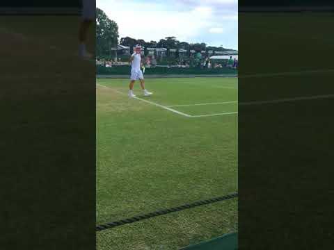 Wimbledon Q. Match Point Fabbiano - Jung