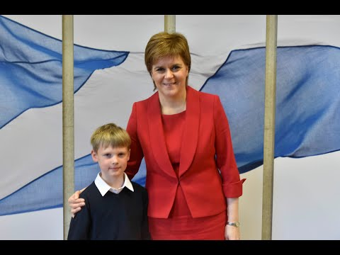Tom In Edinburgh Presents: Nicola Sturgeon (First Minister Of Scotland).