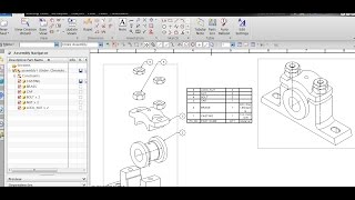 Скачать PARTS LIST AUTO BALLOONS ADDING MATERIAL IN PARTS LIST IN NX UNIGRAPHICS