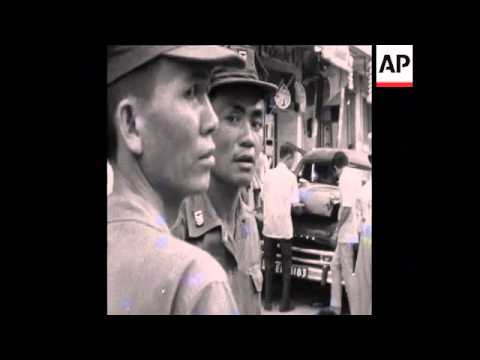 SYND 09/08/1969 SOUTH VIETNAM AIR FORCE SCHOOL BLASTED BY VIETCONG PLASTIC CHARGES