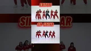 Las Nenas EDITADO VS SIN EDITAR 🎬🔥 Cuál es mejor? COMENTA👇🏻 #Shorts