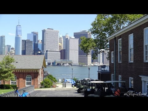 Governors Island Tour of Castle Williams 8/13/17