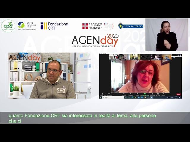 AgenDay, DIGITAL TALK: prima tappa verso la costruzione di un'Agenda di azioni condivise legate al
