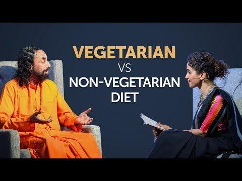 Bhagavad Gita - Does Vegetarian Diet Gives you Peace of Mind? | Swami Mukundananda