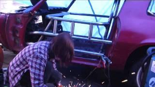 Installing Door Bars (sissy Bars) - Building A Pure Stock Race Car