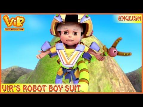 Vir: The Robot Boy | 3D Action Shows For Kids | Vir's Robo Boy Suit | ENGLISH