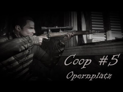 Let's Coop: Sniper Elite V2 [#5] Opernplatz [Full HD 1080p] Gameplay PC Deutsch