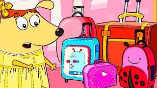 Кисточка переезжает в новый дом | Мультики для детей и малышей | Детские Развивающие мультфильмы