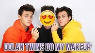 Die Dolan Twins schminken mich