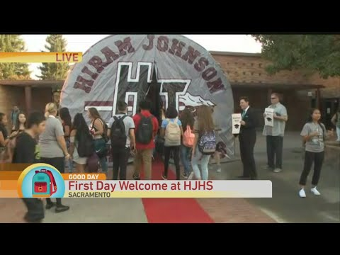 First Day Welcome Wave
