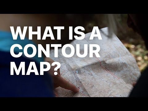 What Is A Contour (Topographic) Map?