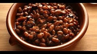 Food Storage Boston Baked Beans With Pressure Canned Salt Pork