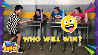 EPIC Minute to Win It Challenge | READY SET DANCE | Crew Tube | Easy Kids Challenge