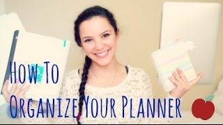 How To Organize Your Planner For School : Binder, Notebook, Online & Daily Planner - Lx3bellexoxo ♡