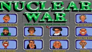 Nuclear War gameplay (PC Game, 1989)