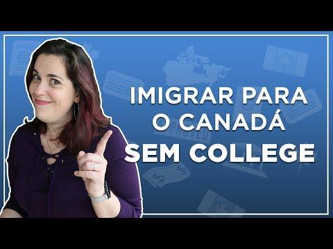IMIGRAR SEM COLLEGE E SEM TRABALHAR NO CANADÁ - Processos federais que te trazem como PR do Brasil
