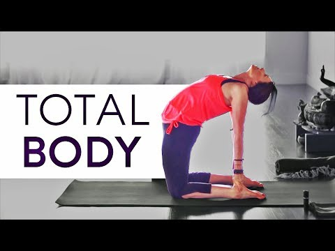 Glowing Yoga Body Workout for Flexibility (30 min)