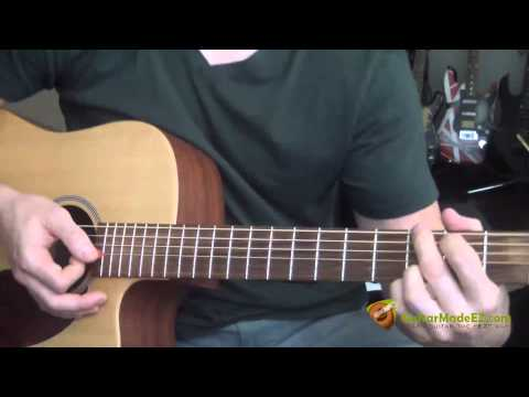 Bob Dylan - Times They Are A Changin Guitar Lesson ( Guitar Chords, Strumming Pattern )