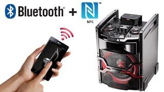 LG X-Boom OM5540 Sound Speaker Test