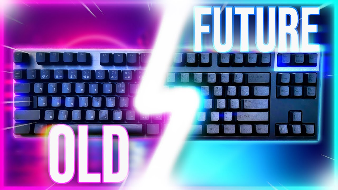i found the keyboard of the future... ft. Keyboard ASMR
