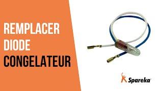 Comment réparer votre congélateur - Remplacer la diode ?
