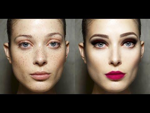 Face Retouching - Photoshop Time-Lapse