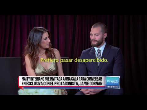 Jamie Dornan - Fifty Shades Darker LA Premiere (Despierta America)